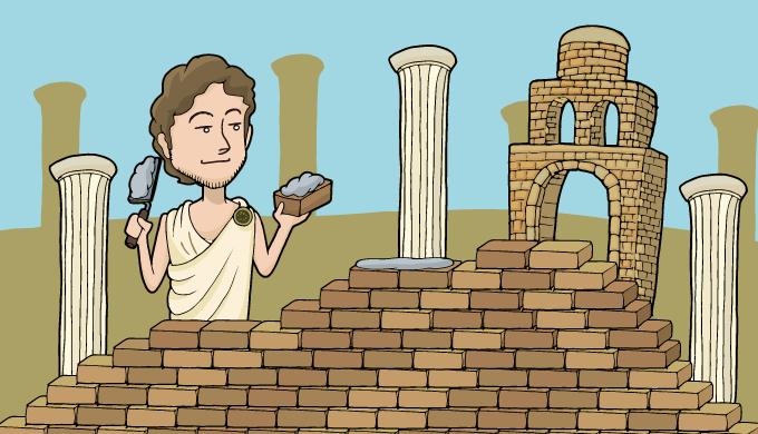 ローマ帝国の繁栄を表した画像