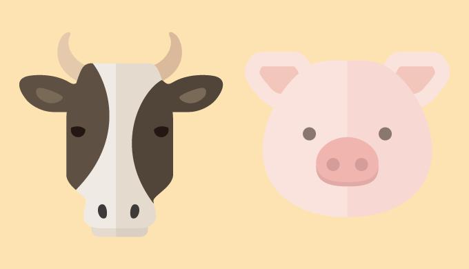 肉類のイラスト