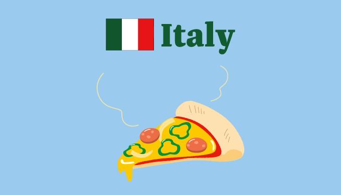 イタリアのイラスト