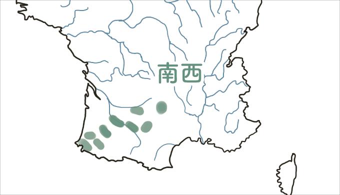 南西地方の図解